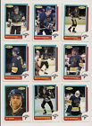 1986-87 OPC ST.LOUIS BLUES Select from LIST NHL HOCKEY CARDS O-PEE-CHEE