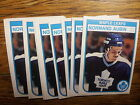 1982-83 OPC TORONTO MAPLE LEAFS Select from LIST NHL HOCKEY CARDS O-PEE-CHEE