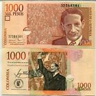 COLOMBIA 1000 1,000 PESOS 2015 P 456 NEW DATE UNC