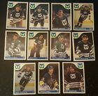 1985-86 OPC HARTFORD WHALERS Select from LIST NHL HOCKEY CARDS O-PEE-CHEE