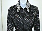 Plus Size Western Rail, Pleasure, Rodeo,Trail, & Glamour Shirt N 6 Color Choices
