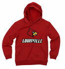 NCAA Youth Louisville Cardinals Performance Hoodie, Red