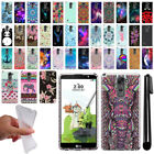 For LG Stylus 2 Plus Stylo 2 Plus MS550 Design TPU SILICONE Case Cover + Pen