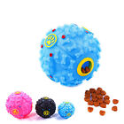 Giggle Ball Pets Dog Tough Treat Training Chew Sound Food Dispenser Toys Squeaky