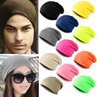 Cap Hat Slouch  Warm Plain Knit  Winter Ski Beanie  Men/Women Crochet