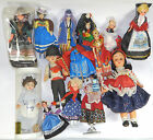 Job Lot Of Foreign Dolls in Traditional Costume
