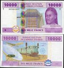 CENTRAL AFRICAN STATES CONGO 10,000 10000 FRANCS P 110 T NEW SIGN UNC