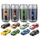 Coke Can Mini RC Radio Remote Control Micro Racing Car Hobby kids Gift Toy