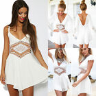New Lady Summer Celeb Lace Playsuit Party Short Jumpsuit&Romper Trousers