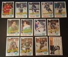 1981-82 OPC HARTFORD WHALERS Select from LIST NHL HOCKEY CARDS O-PEE-CHEE