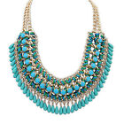 HOT Charm Bib Statement Chunky Choker Chain Crystal Pendant Necklace Lot