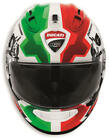 Ducati Corse V2 Motorcycle Helmet by Arai Corsair-X Italian Flag Colors