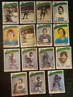 1976-77 OPC VANCOUVER CANUCKS Select from LIST NHL HOCKEY CARDS O-PEE-CHEE
