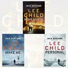 Lee Child Jack Reacher Collection Vol (19 - 21) 3 Books Set(Night School)NewPack