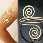 Sexy Women Circle Spiral Armband Upper Arm Cuff Armlet Bangle Bracelet Gifts Hot