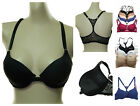 cleavage bra - ADD 2 CUP MAX DEEP CLEAVAGE SEAMLESS RACERBACK PUSH UP BRA FRONT CLOSE 32-38 B C