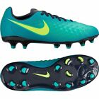 Nike Magista Opus II FG 2016 Soccer Shoes New Teal Green/ Volt Kids - Youth