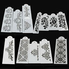 Lace Flower Cake Cookie Fondant Side Baking Stencil Wedding Decorating DIY Tools