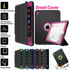 360° Full Body Protective Shockproof Heavy Duty Hard Case & Smart Cover for iPad