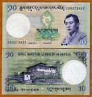 Bhutan, 10 Ngultum, 2013, P-NEW, Z-Prefix, UNC   Replacement