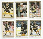 1990 91 OPC PREMIER BOSTON BRUINS Select from LIST NHL HOCKEY CARDS O-PEE-CHEE
