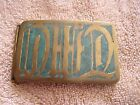 "Vintage Johnson Inlay Belt Buckle ""David"""