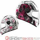2013 SHARK S600 SEASON LADIES WOMENS MOTORCYCLE FULL FACE HELMET GHOSTBIKES