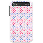 Blue & Red Heart & Diamond Patterns Hard Case For Blackberry Classic Q20