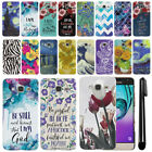 For Samsung Galaxy J3 J310 J320/ Amp Prime Art Design Hard Case Back Cover + Pen