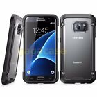 Black/Frost Samsung Galaxy S7/ S7 Edge Hybrid Rubber Shockproof Case Cover