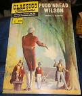 Classic Illustrated No 93 Pudd'nhead Wilson  Samuell Clemens1968 vintage comic
