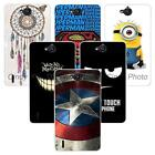 For Huawei Ascend G740 Honor 3 Hard Case Cover Minions Windbell Smile Superman