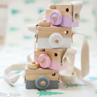 Creative Baby Wood Simulation Camera Neck Hanging Rope Photographed Props Toys