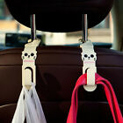 New Auto Car Back Seat Grocery Bag Hanger Holder Hook Multi Use Tools 1Pair
