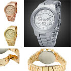 Hot Women's Men's Business Casual Watches Stainless Steel Wrist Watches