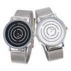 Hot Men's Fashion Circles Stainless Steel Luxury Sport Analog Quartz Wrist Watch