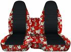CC 91 -015 ford ranger car seat covers front+ center console cover  camo - black