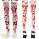 LADIES BLOOD STAINED BLOODY TIGHTS OR STOCKINGS HALLOWEEN FANCY DRESS WOMENS
