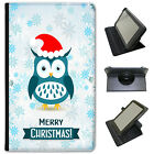 Winter Wonderland Snowflakes Animals Universal Leather Case For ACER Tablets