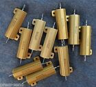 10, 25 and 50 Watt Wire Wound Resistors in Aluminum - NEW and Refurb