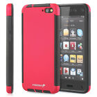 Hybrid Durable TPU Case Cover w/ Built in Screen Protector For Amazon Fire Phone
