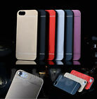 Aluminum Ultra-thin Metal Hard Case Back Cover For Apple iPhone 4S/ 5S/6 Plus ah