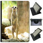 Animal Wildlife Meerkat Meercat Universal Folio Leather Case For Archos Tablets