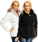 NEU Geographical Norway JACKE Winter MANTEL Parka ALASKA Lady OUTDOOR parker