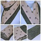 HARRIS TWEED & VINTAGE COUNTRY scarves women's Christmas Winter  DOG HORSE DUCKS