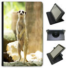 Animal Wildlife Meerkat Meercat Universal Leather Case For Amazon KindleTablets