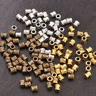 50/100Pcs Antique Tibetan Silver Tube Charms Spacer Beads for Bracelets B3034