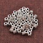 30/50/100Pcs Tibetan Silver Tube Charm Spacer Beads Jewelry Findings 3041