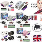 Electric Nail Art File Drill Manicure Pedicure Tool Machine+Bits+Sanding Bands
