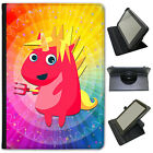 Mythical Magical Unicorns Dressing Up Universal Leather Case For Bush Tablets